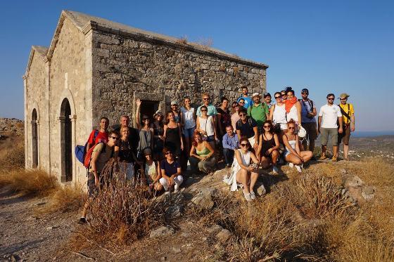 YCARHe - Group in Aegina