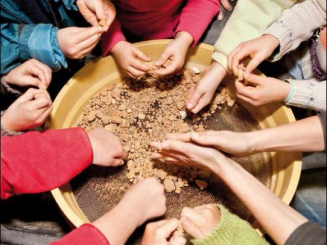 Discovering earth plaster on a participatory eco-building workshop (FR)