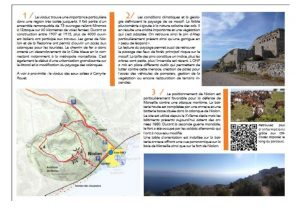 Discovery path for Niolon - Provence in France